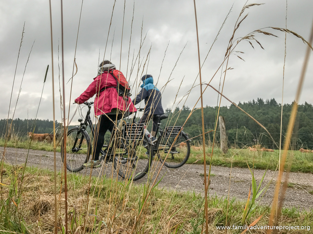 Cycling in the Eifel National Park