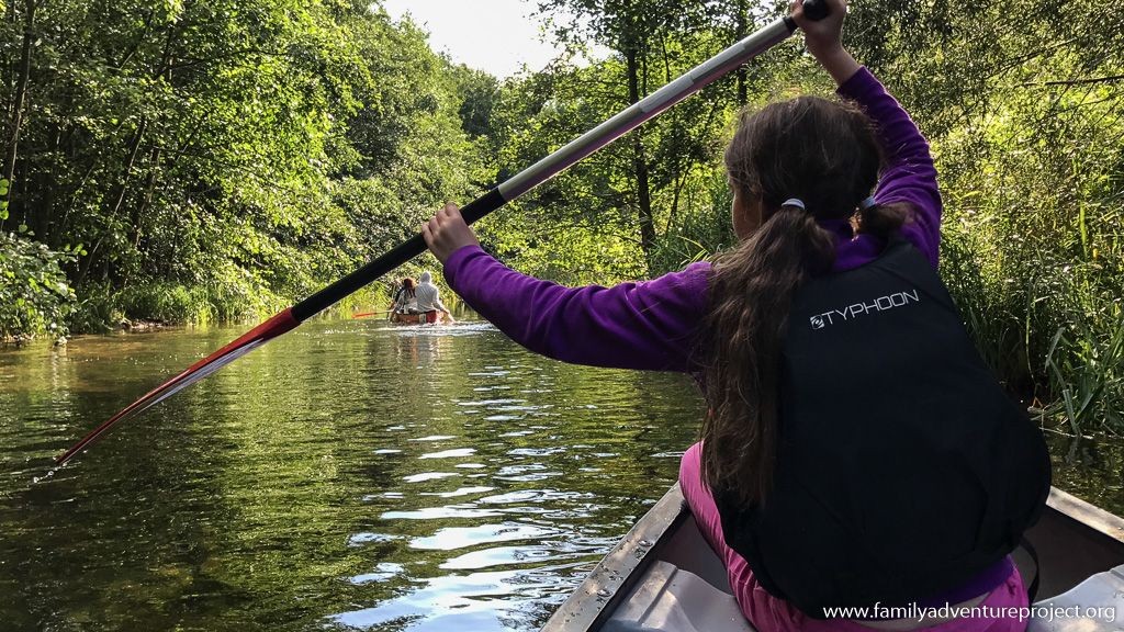 Canoeing on the lakes and rivers around Leipzig