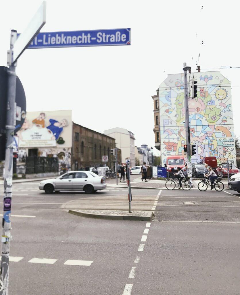 Karl-Liebknecht-Straße Leipzig