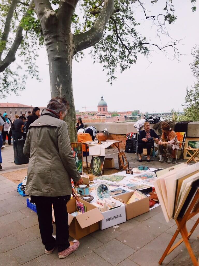 flea market Toulouse