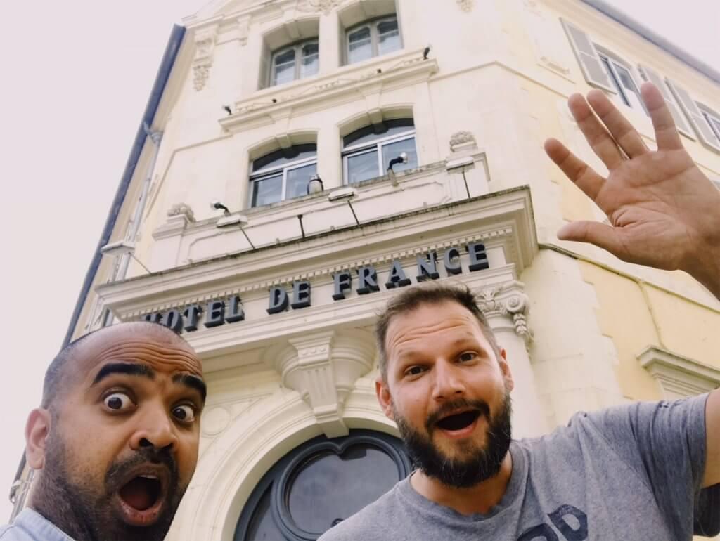 L'hôtel de France Auch