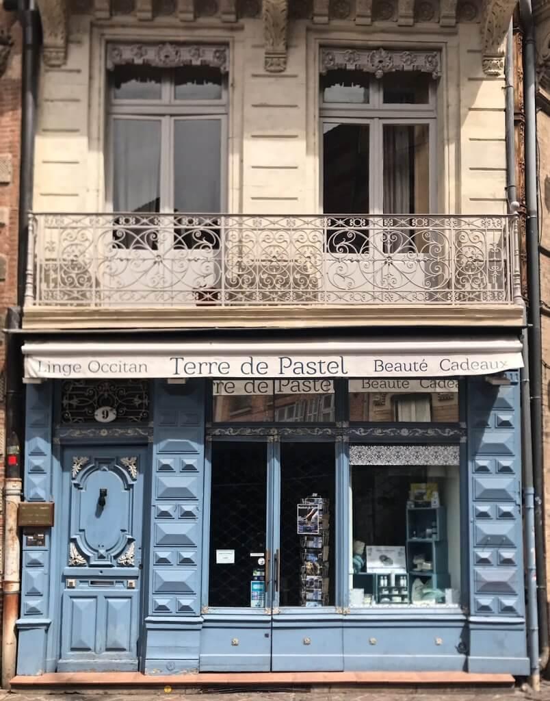 Pastel Blue Toulouse
