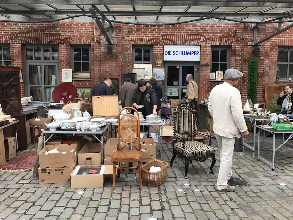 Flea market Hamburg