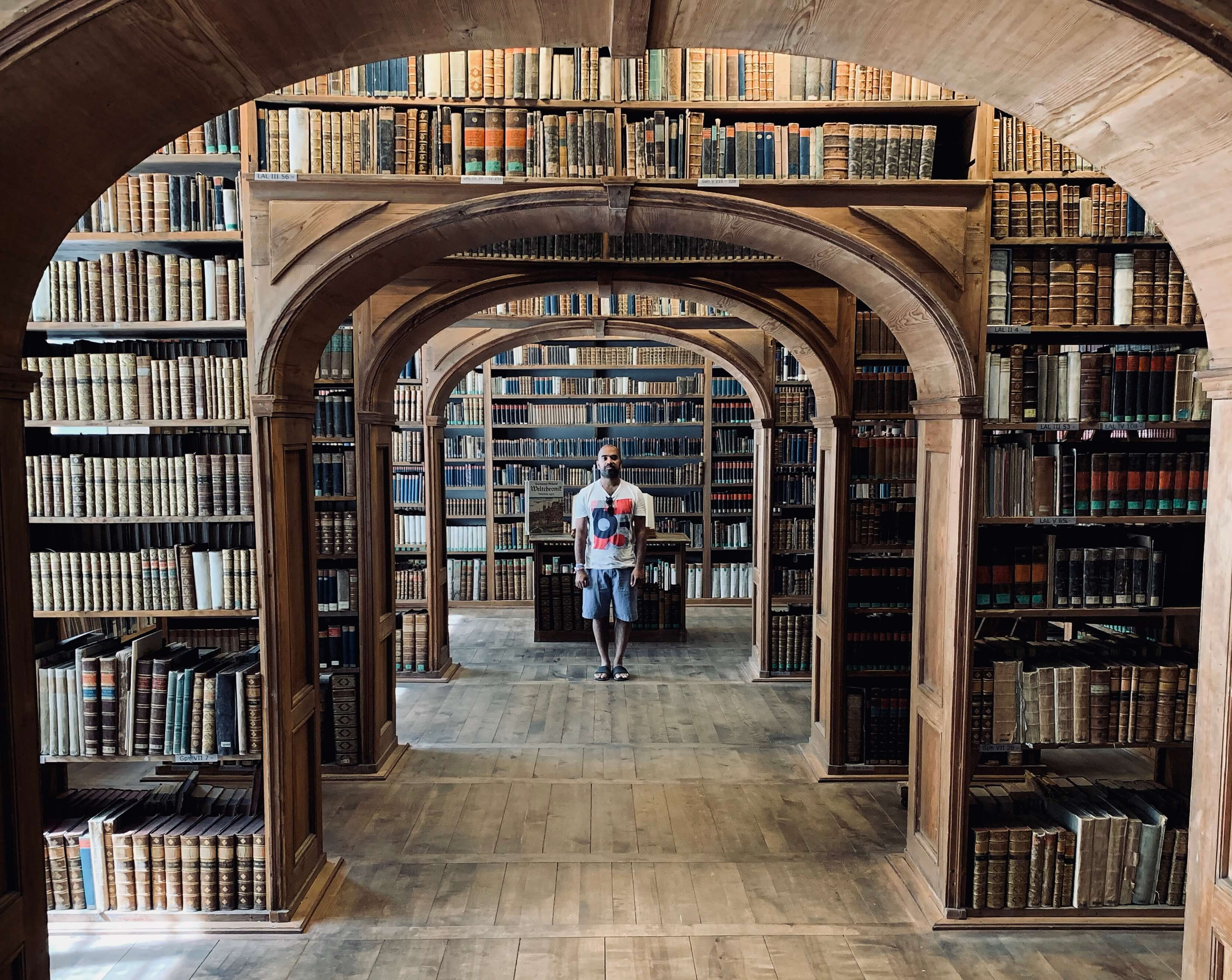 Upper Lusatian Library of Sciences-the most beautiful library in Germany possibly