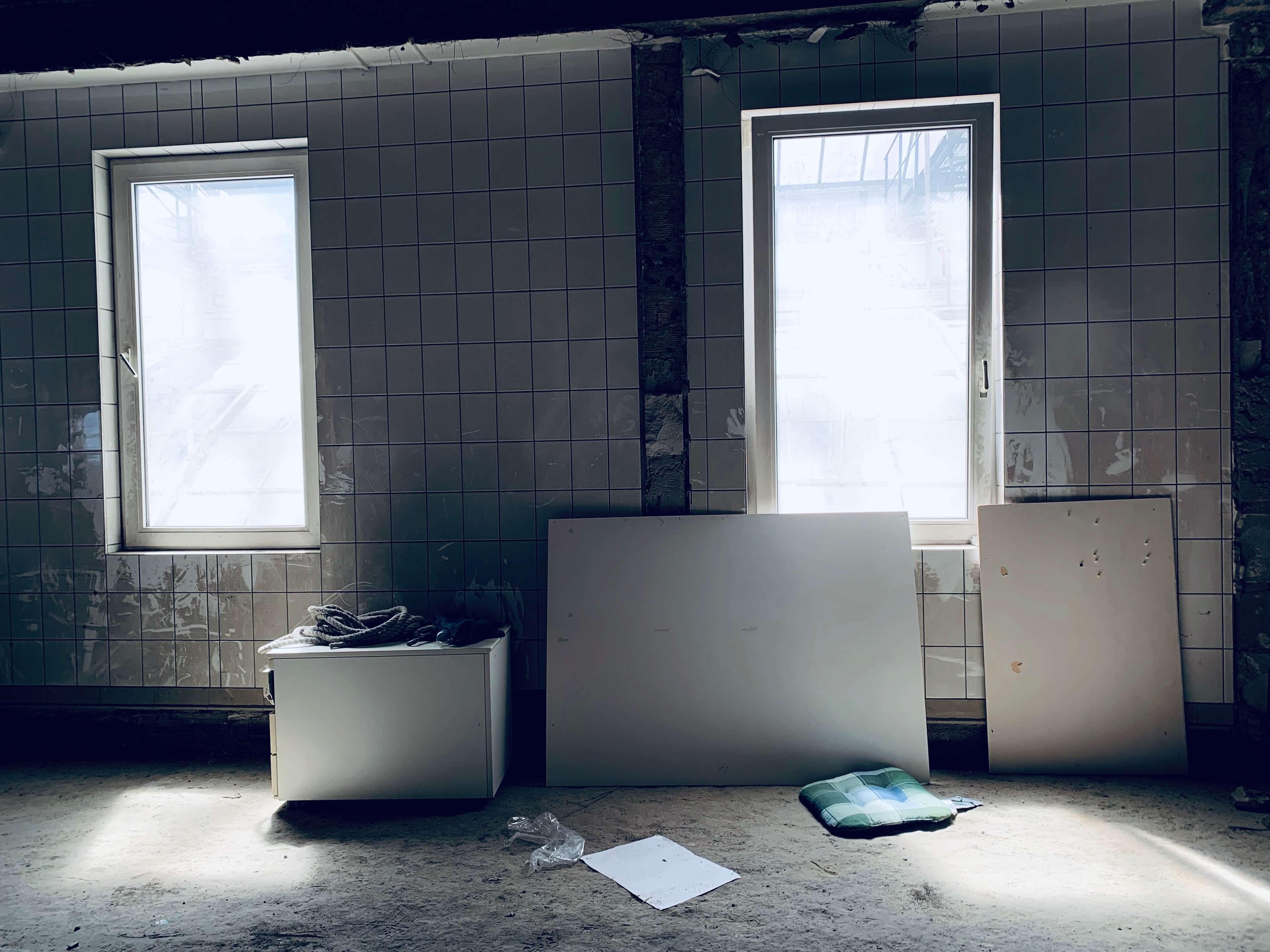 Abandoned top floor Gorlitz Warenhaus